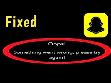 why is my snapchat not working